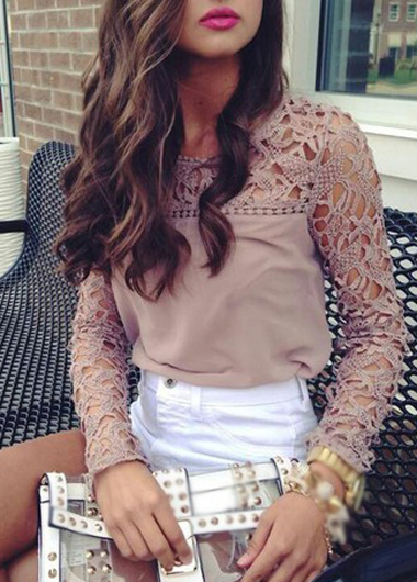 Fabulous Lace Sleeve Top
