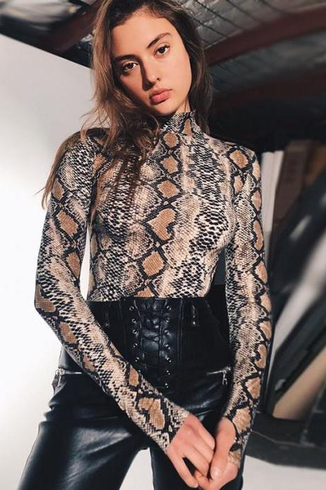 Women'S Serpentine Long Sleeve Jumpsuit