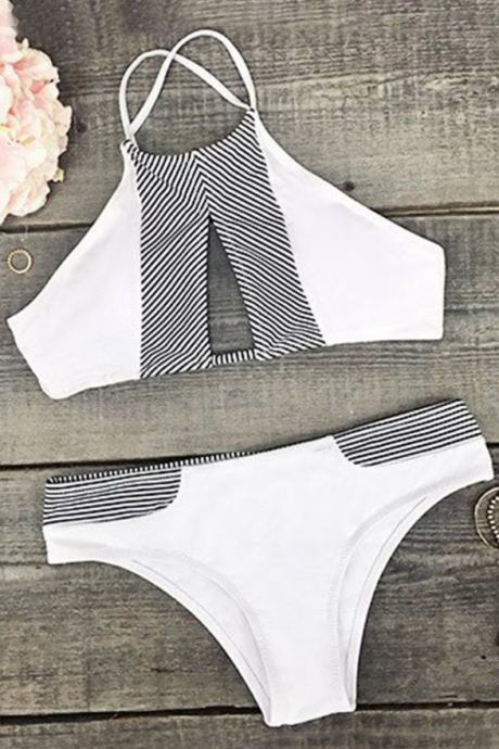 2018 Sexy Printed Two-Piece Bikini Swimsuit