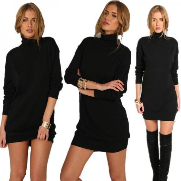 Women'S Fashion Long-Sleeved Dress